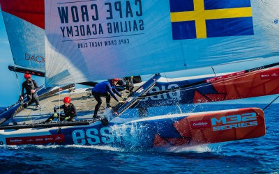 STEFAN SCHARNAGL STEUERT CANDIDATE SAILING TEAM ZUM RED BULL YOUTH AMERICAS CUP 2017