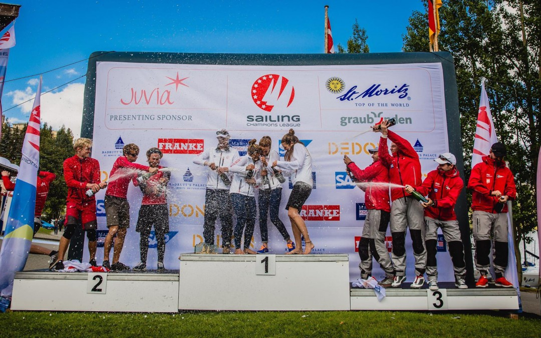 SENSATIONELLER SIEG FÜR SCM IN ST.MORITZ BEI SAILING CHAMPIONS LEAGUE