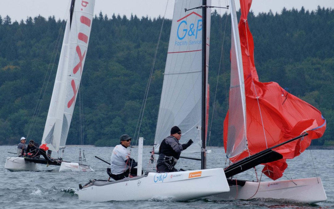 REGATTABERICHT FRANZ SCHALL AM WILDCAT