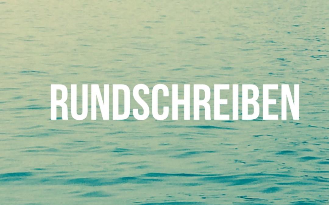 SCM RUNDSCHREIBEN 2016