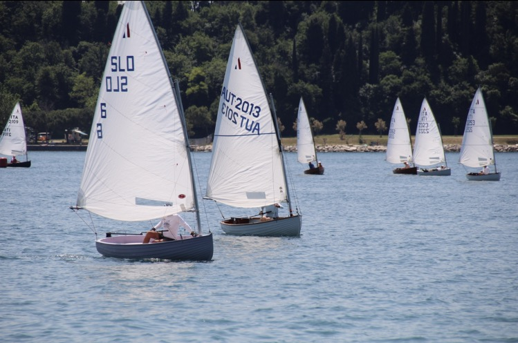 SCM DINGHY-FLOTTE IN SLOVENIEN