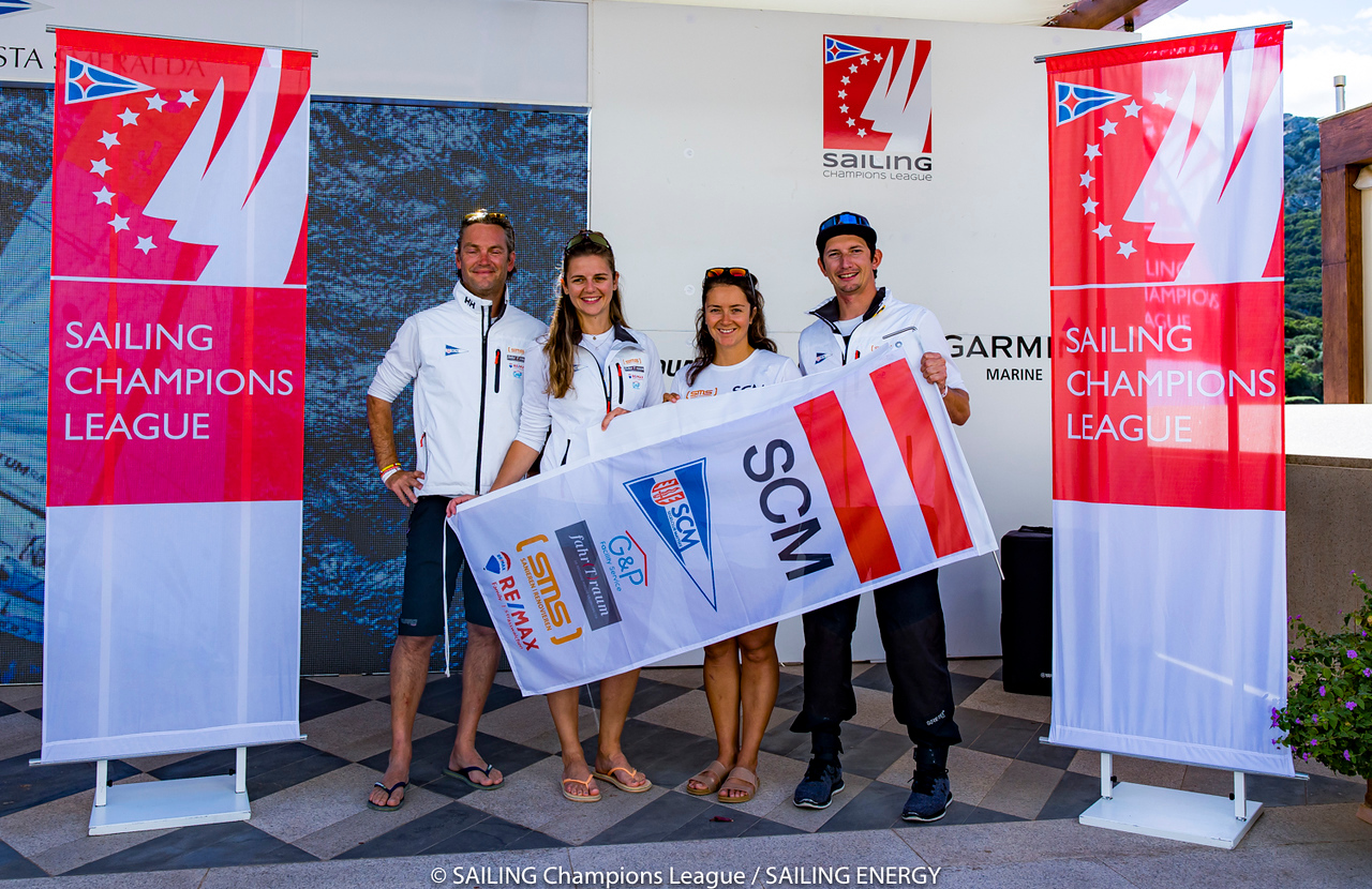 """The final of the SAILING Champions League takes place from 7th to 10th October 2021 in Porto Cervo in Sardinia. The best 30 sailing clubs from 15 countries will compete for the title """"Best Yacht Club of the Year"""" at the hosting Yacht Club Costa Smeraldar07 October, 2021r© SAILING Champions League / SAILING ENERGY"""